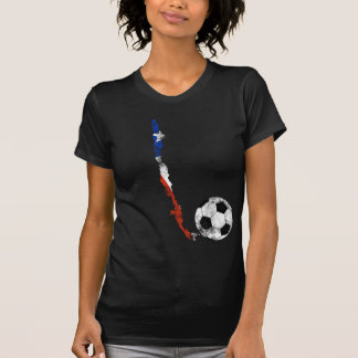 Distressed Chile Soccer Shirts