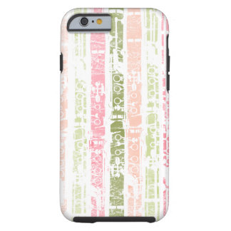 Distressed Clarinet Tough iPhone 6 Case
