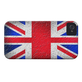 Distressed Concrete Union Jack iPhone 4 Cover
