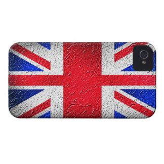 Distressed Concrete Union Jack Case-Mate iPhone 4 Cases