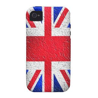 Distressed Concrete Union Jack Case-Mate iPhone 4 Case