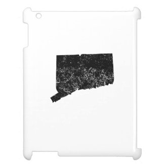 Distressed Connecticut Silhouette Case For The iPad 2 3 4