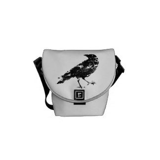 Distressed Crow Bag Commuter Bags
