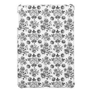 Distressed damask floral rose flowers chic pattern case for the iPad mini