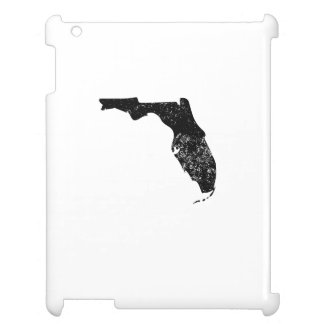 Distressed Florida Silhouette Cover For The iPad 2 3 4