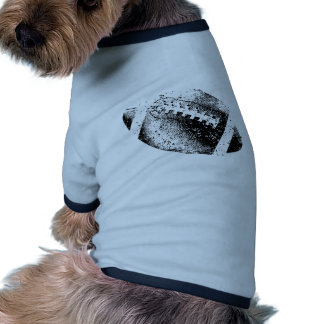 Distressed Football Graphic Dog Clothes