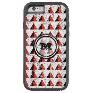 Distressed Geometric Monogram Tough Xtreme iPhone 6 Case