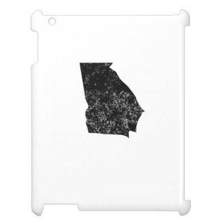 Distressed Georgia Silhouette iPad Covers