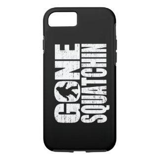Distressed Gone Squatchin iPhone 7 case