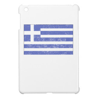 Distressed Greece Flag iPad Mini Covers