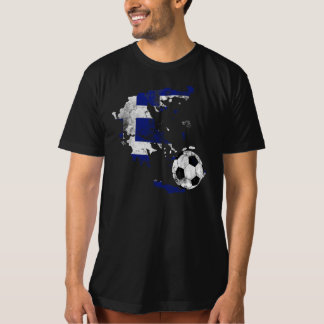 Distressed Greece Soccer Shirt