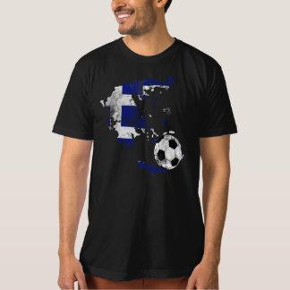 Distressed Greece Soccer T-Shirt