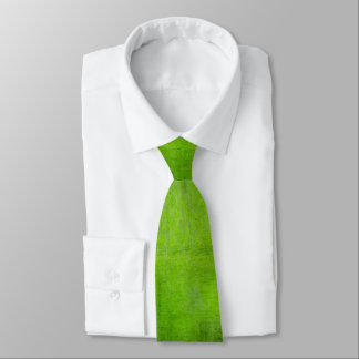 Distressed Green St. Patrick's Day Tie