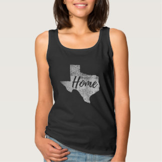 Distressed Grungy Any Colour Texas Home Shirt