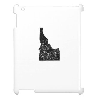 Distressed Idaho Silhouette Cover For The iPad