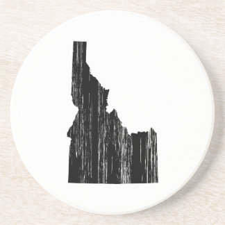 Distressed Idaho State Outline Coaster