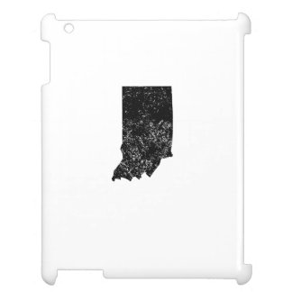 Distressed Indiana Silhouette iPad Covers