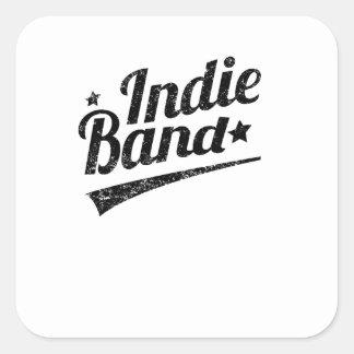 Distressed Indie Band Logo Sticker