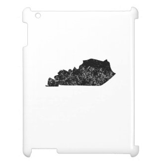 Distressed Kentucky Silhouette Cover For The iPad