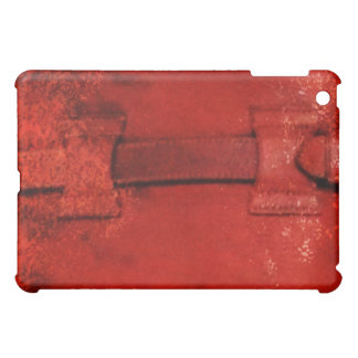 Distressed Leather Briefcase iPad Case