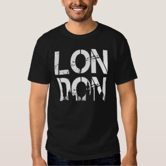 Distressed London With landmarks Very Cool Tees