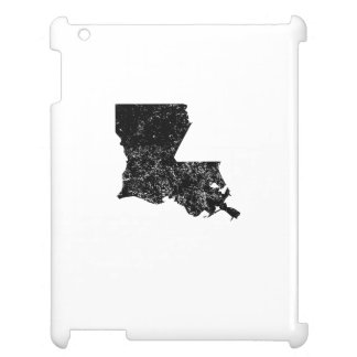 Distressed Louisiana Silhouette Case For The iPad 2 3 4