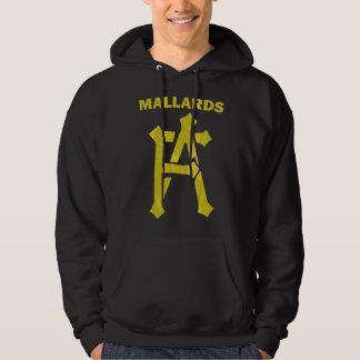 Distressed Mallards FA logo Hooded Sweatshirt