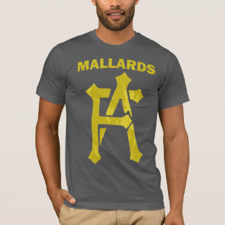 Distressed Mallards FA logo T-shirt