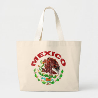 DISTRESSED MEXICO FLAG CANVAS BAGS