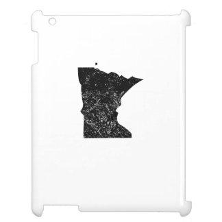 Distressed Minnesota Silhouette iPad Case