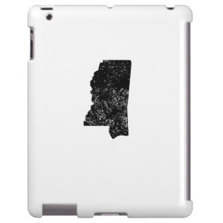 Distressed Mississippi Silhouette