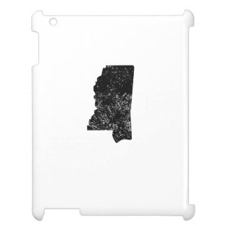 Distressed Mississippi Silhouette Case For The iPad 2 3 4