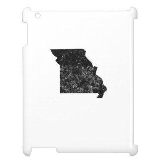 Distressed Missouri Silhouette iPad Case
