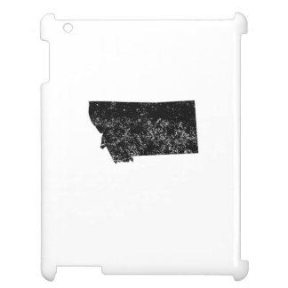 Distressed Montana Silhouette Cover For The iPad 2 3 4