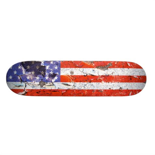 Distressed Nations™ - America (skateboard)