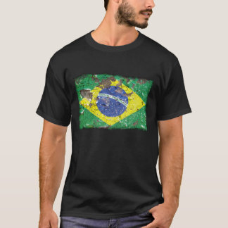 Distressed Nations™ - Brazil (shirt) T-Shirt