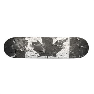 Distressed Nations™ - Canada B&W(skateboard) Skate Boards