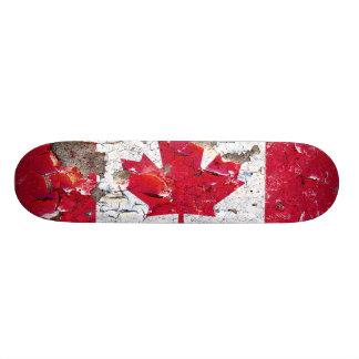 Distressed Nations - Canada (skateboard) 19.7 Cm Skateboard Deck