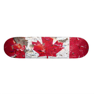 Distressed Nations - Canada (skateboard) 19.7 Cm Skateboard Deck