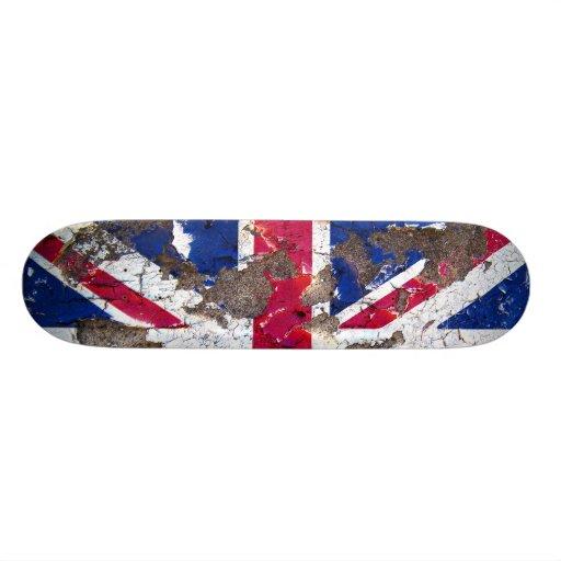Distressed Nations™ - United Kingdom (skateboard)