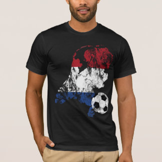 Distressed Netherlands Soccer T-Shirt