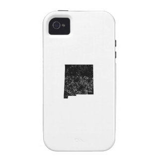 Distressed New Mexico Silhouette Case-Mate iPhone 4 Cover