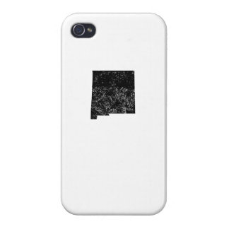 Distressed New Mexico Silhouette iPhone 4 Covers