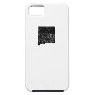 Distressed New Mexico Silhouette iPhone 5 Cover