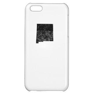 Distressed New Mexico Silhouette Case For iPhone 5C