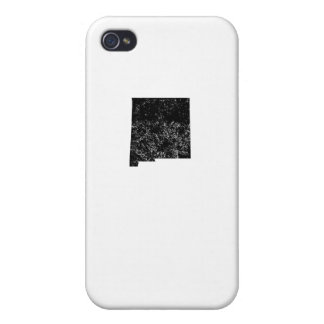 Distressed New Mexico Silhouette Covers For iPhone 4