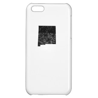 Distressed New Mexico Silhouette Cover For iPhone 5C