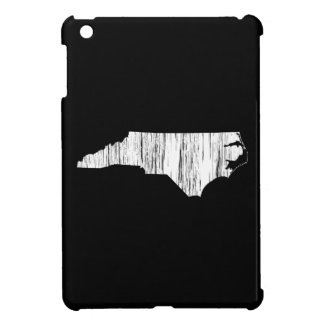 Distressed North Carolina State Outline iPad Mini Cases