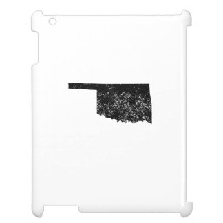Distressed Oklahoma Silhouette Case For The iPad