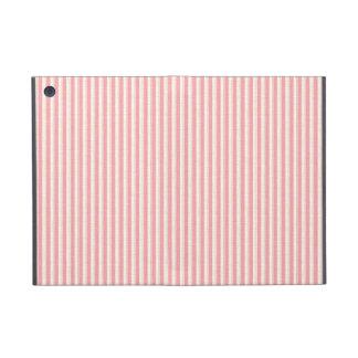 Distressed Pink Stripes iPad Mini Cover